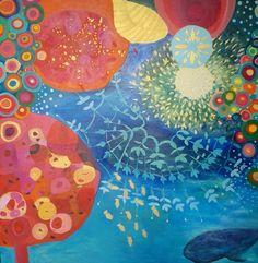 """Saatchi Art Artist Irene Guerriero; Painting, """"Endorphins SOLD"""" #art"""