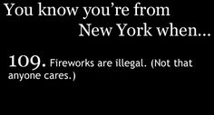 Weeeelll...just to clarify, I have never shot off fireworks! ;)
