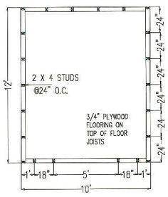 10'x12' Backyard Bonanza Shed Plan