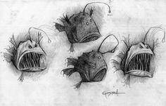 carter goodrich | Finding Nemo: Character Design: Carter Goodrich