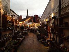Kitchen Garden Cafe, Kings Heath, Birmingham, UK. Looks magical. #england #birmingham