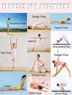 Popular #yoga poses for beginners #health #wellness