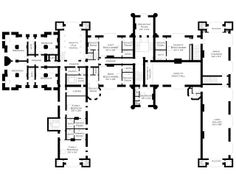 Lord Foxbridge Goes to Ground: Floor Plans