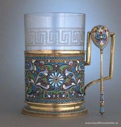 Russian tea glass holder.