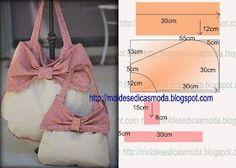 hand bag pattern SACO FACIL DE CORTAR - 25   ♥...Nims....♥