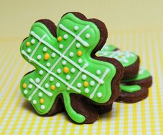 St Patrick's Day Sugar Cookies by guiltyconfections on Etsy, $21.00
