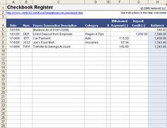 books of accounts sample Free Excel Checkbook Register - Printable Printable Check Register, Small Business Plan Template, Printable Checks, Checkbook Register, List Of Jobs, Budgeting Worksheets, Microsoft Excel, Worksheets For Kids, Sample Resume