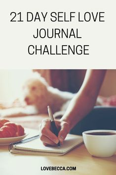 This 21 Day Self Love Journal Challenge is for you if loving yourself, discovering yourself, accepting yourself, or finding yourself is a challenge. Self discovery journal Journal Challenge, 21 Day Challenge, Challenge Accepted, How To Better Yourself, Finding Yourself, How To Discover Yourself, Love Yourself, Love Journal, Daily Journal