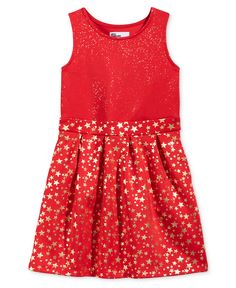 Epic Threads Little Girls' Star Cupcake Dress, Only at Macy's - Dresses - Kids & Baby - Macy's