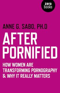 I received proofs and cover for my After Pornified book this week; all looks good. After Pornified: How Women Are Transforming Pornography & Why It Really Matters will likely be published in August. So excited! I am very pleased that my publisher went with the title and cover I proposed. Click on the link to see the actual cover with the image of a woman breaking through to claim ownership of her body and sex. And to seize the means of representation. To explore and define sex on her terms!