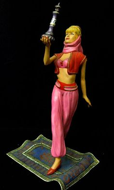 Dream Jeannie 1/6 Resin Model Build Up Fully Assembled and Painted NON STOCK