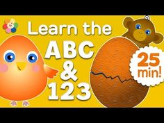 Surprise Eggs, Counting, and the ABC Song for Kids | Learn the Alphabet and 123 | BabyFirst TV - YouTube