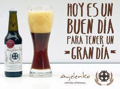 Que tengan una gran semana con #Ayelenko, todo el año aportando a la cultura cervecera.