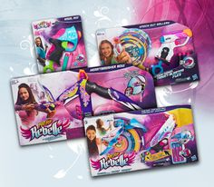 Nerf Rebelle Prize Pack sweepstakes FINALLY ~~ NERF for GIRLS!! Payback big brother <3