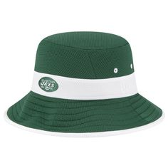 New York Jets New Era Fan Training Camp Reverse Bucket Hat Green 46cd1555c