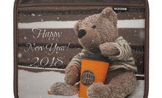 Happy New Year 2018, Ipad Sleeve, Teddy Bear, Toys, Animals, Activity Toys, Animales, Animaux, Clearance Toys