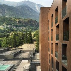 Hotel Billia by Piero Lissoni #abitare #abitaremagazine #abitare_residency #contemporarydesign #contemporaryarchitecture #pierolissoni #valdaosta #stvincent #italy #italiandesign #hotel #hoteldesign #archidaily #archilovers #architecture #architexture #architecturelovers #buildinglovers #alps by adamnathanielfurman