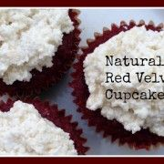 Naturally Red Velvet Cupcakes (Grain Free, Dairy Free, Nut Free) - Gutsy By Nature