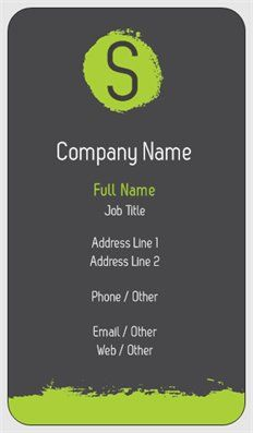 Affordable Standard Business Cards Custom Page 11