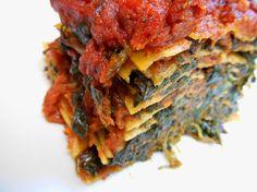 Spinachs lasagna.