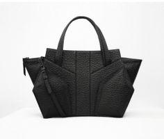 Niki English Vertigo Carry All, $995. Swoon. Laptop Tote, Leather Laptop Bag, Black Leather Tote, Black Tote, Leather Bags, Expensive Handbags, Accessorize Bags, New Handbags, Vertigo