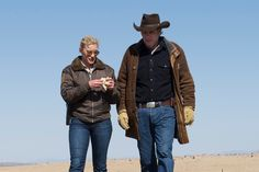 Katee Sackhoff, Robert Taylor - Vic and the Sheriff - Longmire