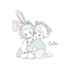 Kawaii Drawings, Cute Drawings, Pretty Art, Cute Art, Character Design Teen, Lisa Blackpink Wallpaper, Dibujos Cute, Cute Anime Pics, Cartoon Art Styles
