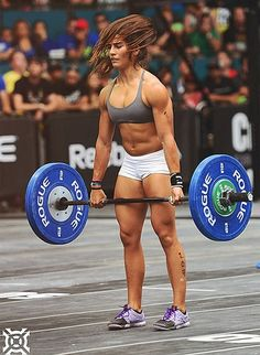 crossfitters:  Lauren Fisher. 20 years old. First CF Games as individual. Congrats girl.