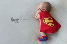 Newborn superman