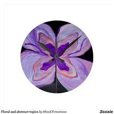 Sujets floraux et abstraits
