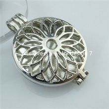 Free Shipping 5PCS Hollow Sunflower Locket Perfume Fragrance Aromatherapy Essential Oil Diffuser(China (Mainland))