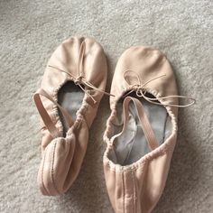 LaRosa Ballet Shoes.  Make an offer  These ballet shoes are in great quality. I have trained my entire life in this company. I have not found a better company than this that lasts so long. The leather is real and smells like it too. Comfort is the best way to describe it. Worn only 2 times because my feet grew. Size is 10 meaning they would fit a size 9 in street shoes. Make an offer  La Rosa Shoes