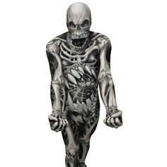 £41 There are skeleton costumes, and then there is the Skulll & Bones Morphsuit