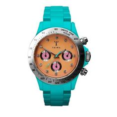 Colourful watch for spring/summer