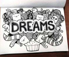 Art name Brenda Cute Doodle Art, Doodle Art Letters, Doodle Art Designs, Doodle Art Drawing, Cool Art Drawings, Doodle Patterns, Art Drawings Sketches, Doodle Art Name, Doddle Art
