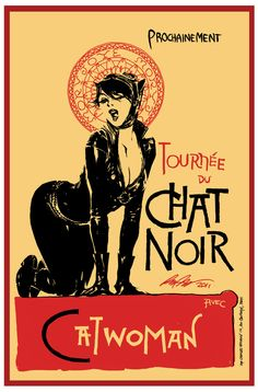 Le Chat Noir that is most certainly Selina!