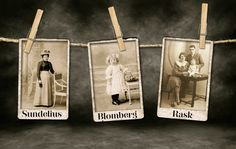 De namn förfäderna tog eller blev tilldelade kan säga mycket om deras liv – yrke, bostadsort, börd och mycket annat. Foto: Istockphoto