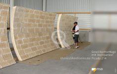 Bauteile einer Gewölbedecke - MSD-Steinpaneel Picada - 10106