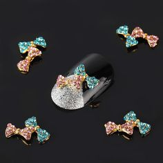 Vip Beauty Shop Wholesale 100 Pcs 3d Imperial Alloy Rhinestone Nail Art Glitter DIY Decoration 22 *** Check out this great product.
