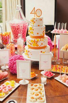 love the candy table idea