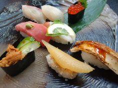 Sushi bar Ikuyoshi in Fuse, Osaka
