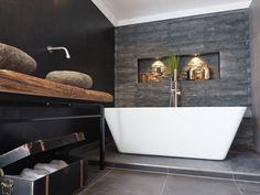 Badkamer Industrieel Industrial Style, Bathtub, House Design, Bathroom, Home, Standing Bath, Washroom, Bathtubs, Bath Tube