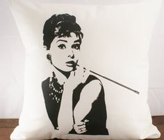 Audrey Cushion Cover  by Sarah Smile Design
