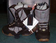 03da143828 Vans Tara Dakides Women s Snowboard Boots Plaid Size 8.5 Xmas Gift - NEW IN  BOX