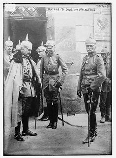 Kaiser and Gen. von Mackensen (LOC) by The Library of Congress, via Flickr