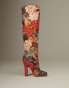 Brocade is back this season and we love the texture it adds to everything from coats to dresses to footwear.