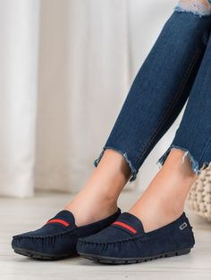 Semišové mokasíny s remienkom Moccasins, Espadrilles, Flats, Shoes, Fashion, Penny Loafers, Espadrilles Outfit, Loafers & Slip Ons, Moda