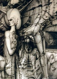 H. R. Giger is recognized as one of the world's foremost artists of Fantastic Realism.