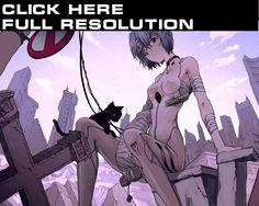 Neon Genesis Evangelion ( Евангелион ) Аниме