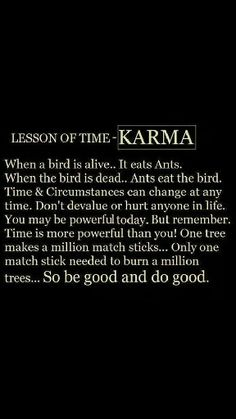 Life lesson for sure. What goes around comes around. I experienced it~ I can only hope it will for them. 2 wrongs don't make it right